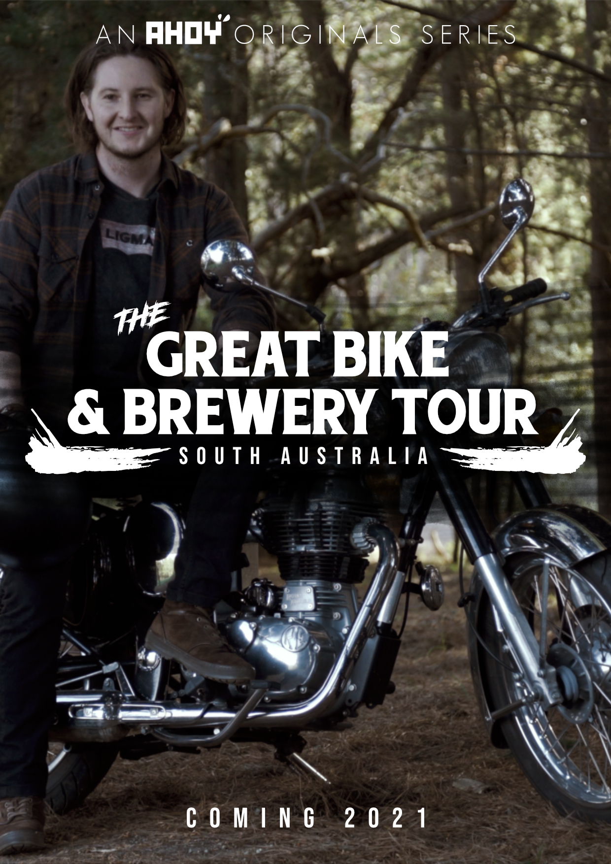 The Great Bike and Brewery Tour Poster 1